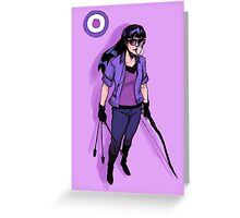 Kate Bishop Greeting Card
