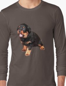 Cute Rottweiler Puppy Long Sleeve T-Shirt