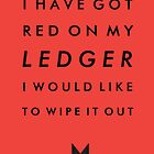 TYPOGRAPHIC POSTER - Black Widow by beauvoire