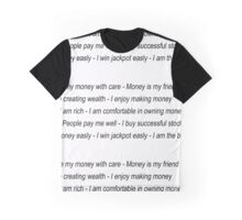 Money Affirmations Graphic T-Shirt