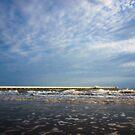 Sunlit Shorncliffe Pier by Silken Photography
