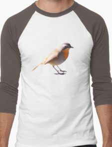 Pixelated Bird Men's Baseball ¾ T-Shirt