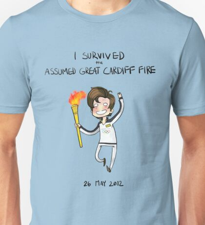 The Great Assumed Cardiff Fire 2012 Unisex T-Shirt