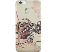 A mile in these shoes iPhone Case/Skin