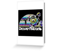 NUGGETS BLACK Greeting Card