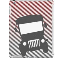 Philippine Jeepney Abstract  iPad Case/Skin
