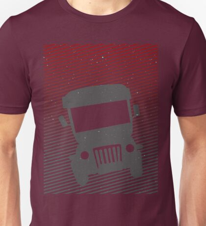 Philippine Jeepney Abstract  Unisex T-Shirt