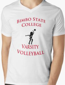 Bimbo State College Varsity Volleyball Mens V-Neck T-Shirt