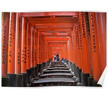 Fushimi Inari Shrine Poster