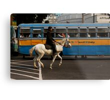 Road Rules Metal Print