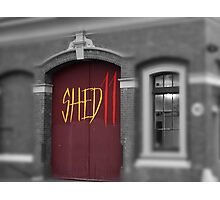 Shed 11 Photographic Print