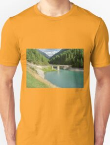 Old stone bridge, Italy, Lombardy near Brescia  Unisex T-Shirt