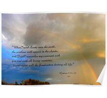 Gen.9:14-15  card Poster