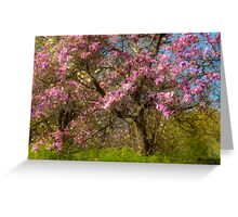 On Magnolia Hill Greeting Card