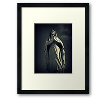 I Don't Know How to Love Him Framed Print