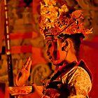 The mudra in trance. by BaliBuddha