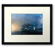NONAME Burnout Framed Print