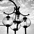China town lamps by Andrew Wilson