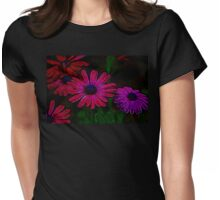 Poppin' Purple Margaritas Womens Fitted T-Shirt