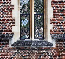 Tudor Window by Karen E Camilleri