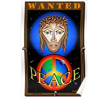 WANTED JESUS Poster