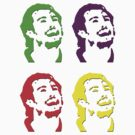 Drew Doughty Andy Warhol-esque Tee Shirt by kalitarios
