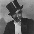 Josephine Baker, Cabaret Performer, Paris by Ian A. Hawkins