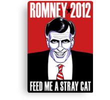 Mitt Romney: American Psycho Canvas Print