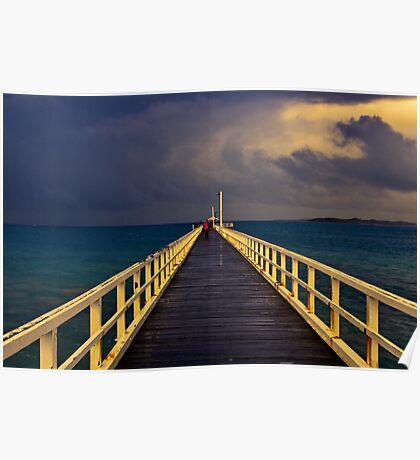 """Storm Promenade"" Poster"