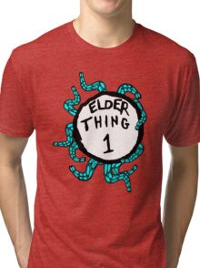 Elder Thing 1 Tri-blend T-Shirt