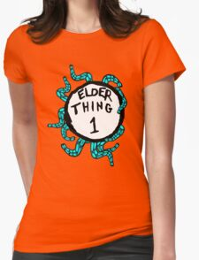 Elder Thing 1 Womens Fitted T-Shirt