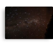 Startrail - Arkaroola - South Australia Canvas Print