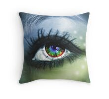 """The connection..."" Throw Pillow"