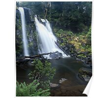 """Hidden Falls"" ∞ Cradle Mountain, Tasmania - Australia Poster"
