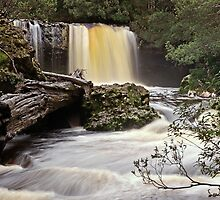 Knyvet Falls - Cradle Mountain National Park by TonyCrehan