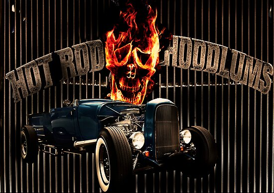 Hot Rod Hoodlum by Andrew (ark photograhy art)