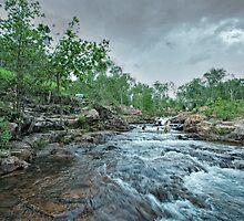 Buley Rockhole - Northern Territory by AllshotsImaging
