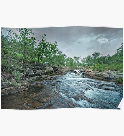 Buley Rockhole - Northern Territory Poster