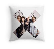 The Vamps X Throw Pillow