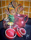 Kitchen Corner by Jim Phillips
