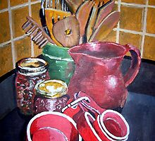 Kitchen Corner by Jim Phillips