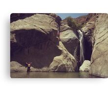 Location Shoot Canvas Print