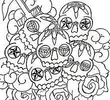 skulls n stuff by William Johnson