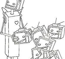 robot head by William Johnson