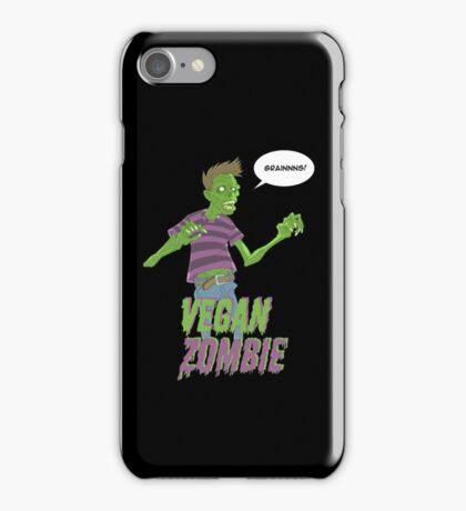Vegan Zombie iPhone Case/Skin