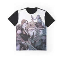 The Cthulhu Williams Crew (by Jay Defoy) Graphic T-Shirt