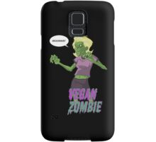 Lady Vegan Zombie Samsung Galaxy Case/Skin