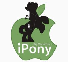 Big Macintosh's iPony (with extra Apple!) Kids Clothes