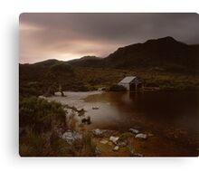 """The Boat Shed"" ∞ Cradle Mountain, Tasmania - Australia Canvas Print"