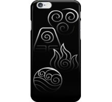 The Four Elements iPhone Case/Skin